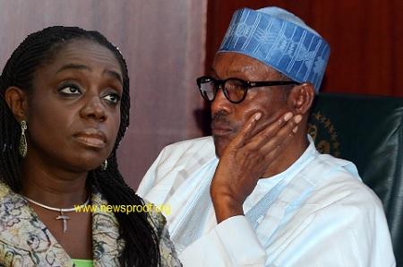 Kemi Adeosun and Buhari