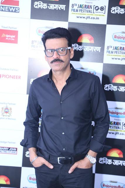 Manoj Bajpai during the day 2 of Jagran Film Festival (1)