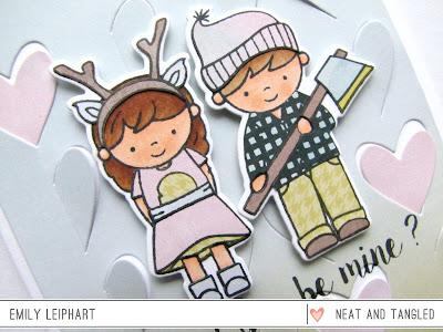 Art♥from♥the♥Heart: {Neat & Tangled} Lumberjack Love