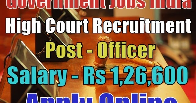 high-court-recruitment-2017-gujarat  Th P Govt Job Online Form Post Office on
