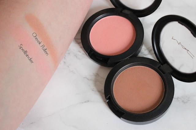 Mac Faerie Whispers Blushes - Cheek Pollen and Spellbinder