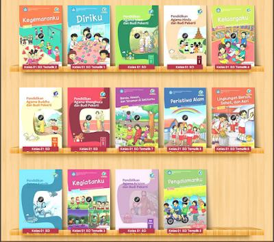 Hasil gambar untuk buku tematik kelas 1
