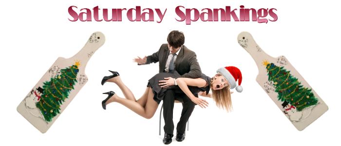 Saturday Spankings-Christmas