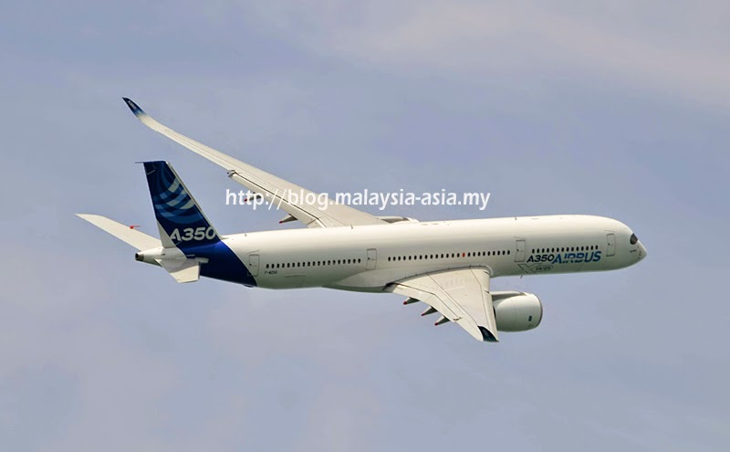 Photo of the A350-900
