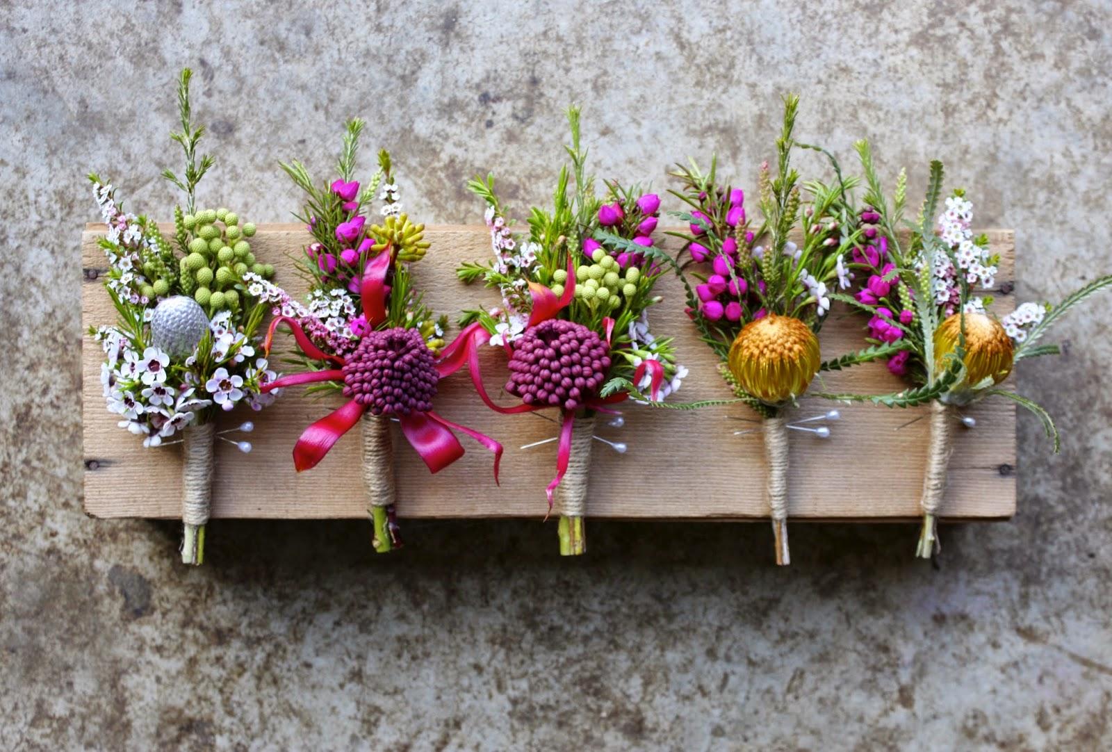 Swallows Nest Farm: Native Spring Wedding Flowers