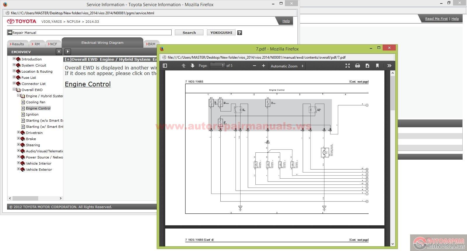 toyota yaris gsic workshop new updated manual dvd full download [ 1600 x 860 Pixel ]