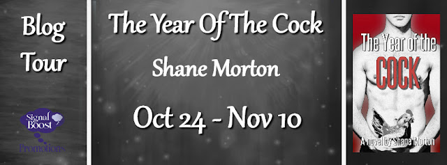 Blog Tour: Guestpost & Giveaway -- Shane Morton - The Year of the Cock