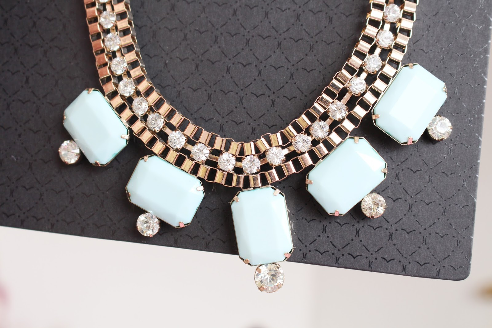 Jane Norman Jewel Box Chain Necklace