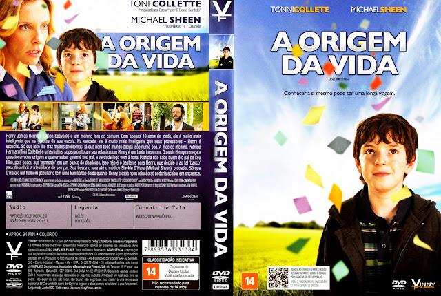 Capa DVD A Origem da Vida