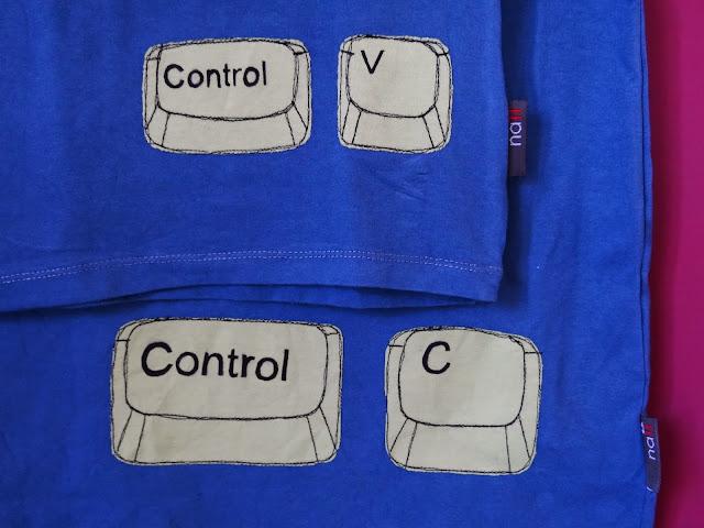 Camisetas ctrl c + ctrl v