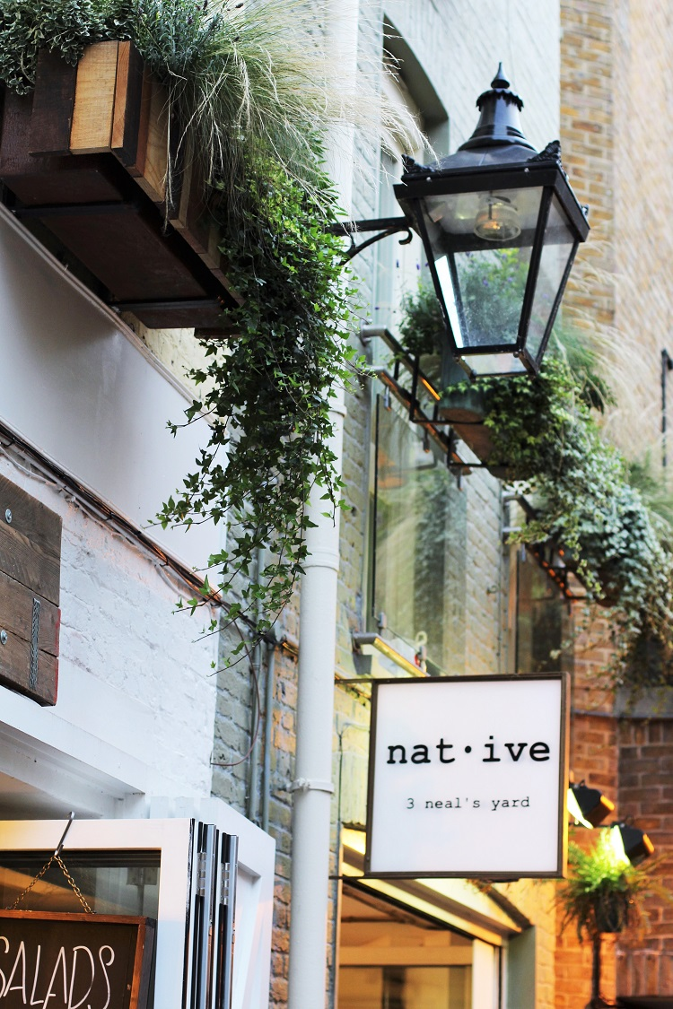 Dinner at wild British restaurant Native, Neal's Yard | London lifestyle blog
