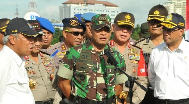 TNI-Polri Janji Berikan Rasa Aman dan Nyaman pada Masyarakat