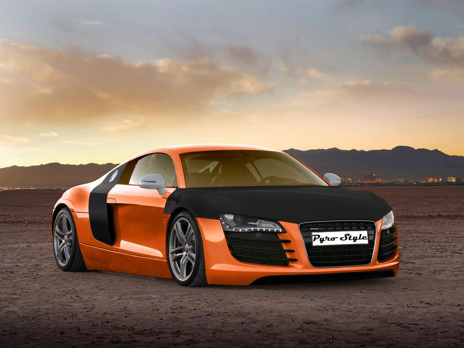 Top speedy Autos: Audi R8 HD Wallpapers