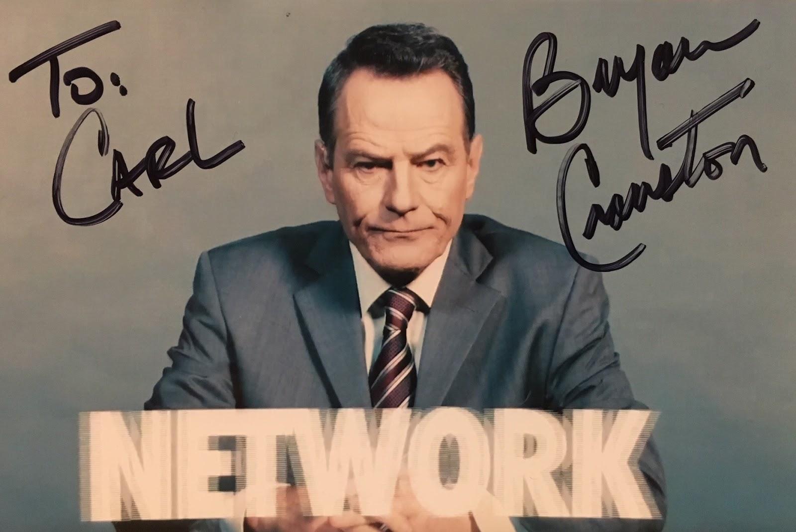 Celebrity Signings: Bryan Cranston (Breaking Bad, Malcolm in