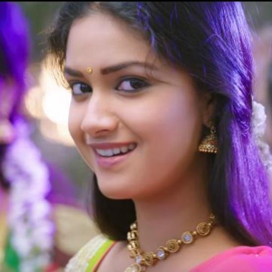 Keerthi Suresh mismerising Smile from RajiniMurugan