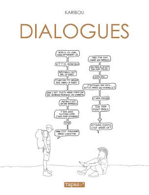 couverture de Dialogues de Karibou chez Delcourt