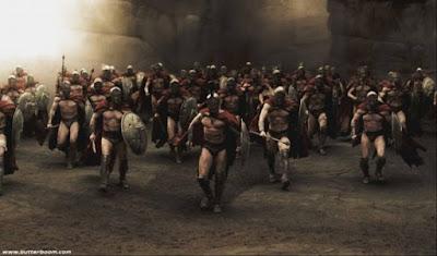 Οι Μαραθωνομάχοι και η ηρωική πορεία να προλάβουν τον περσικό στόλο στον Πειραιά μετά την μάχη του Μαραθώνα (φωτό)