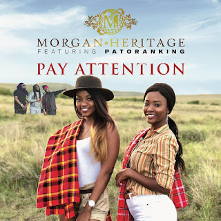 "AUDIO | Morgan Heritage - Pay Attention feat. Patoranking | Download Mp3  Official, Lyrics, Beat, Beats,Instrumental, Free, Tanzania, Music, New Music, Mziki Mpya Wa, Muziki ""MORGAN HERTAGE"" starts the new year a high note as he presents his debut single of 2019 he tagged ""PAY ATTENTION"" Listen And share"
