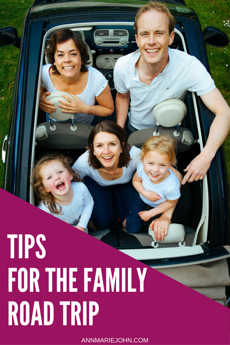 Brilliant Tips For The Family Road Trip  AnnMarie John