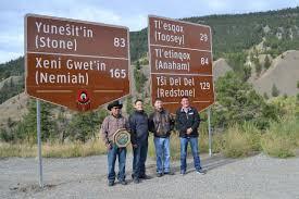 Nação Tsilhqot'in - Comunidades