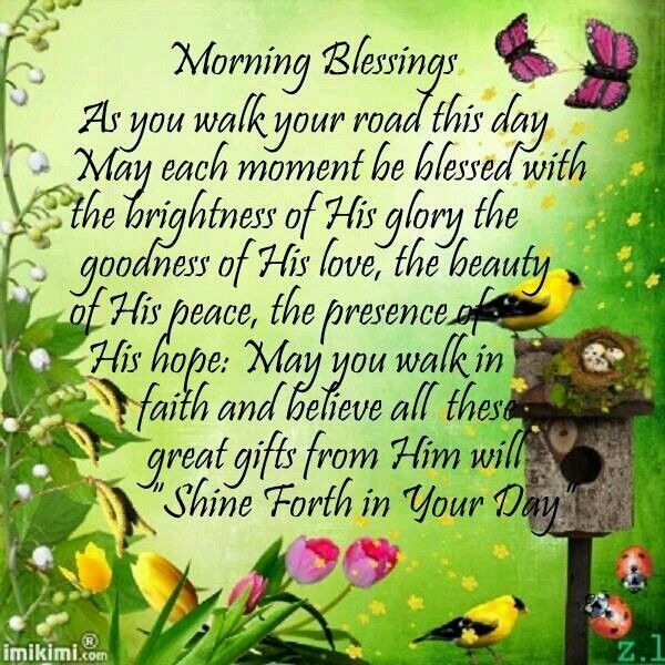 A Grandmas Blessings Good Morning Monday