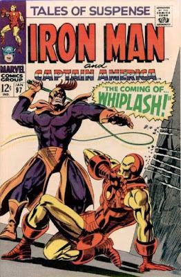 Tales of Suspense #97, Iron Man vs Whiplash