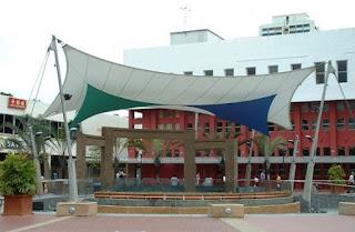 tenda membrane bekasi - gudang canopy