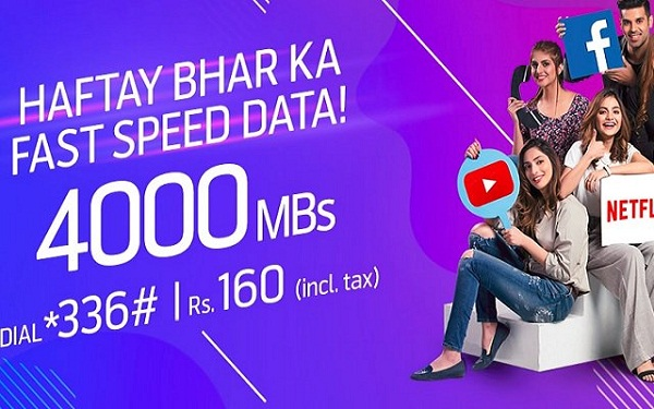 Telenor 4G Weekly Ultra Offer 2018