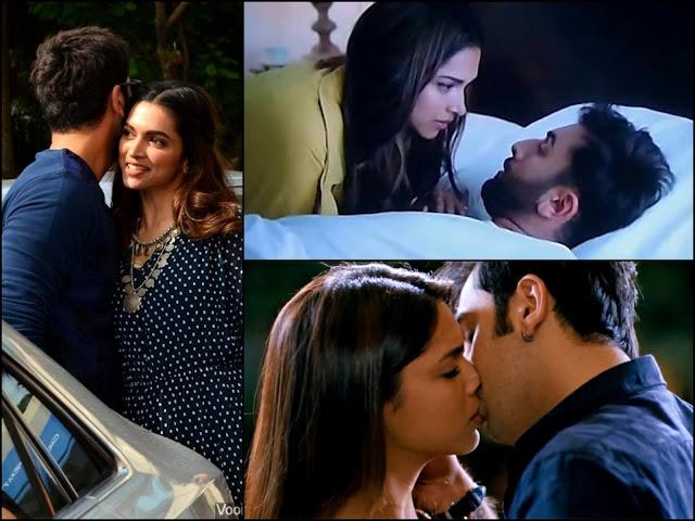 Deepika Padukone and Ranbir Kapoor Spotted Kissing in public