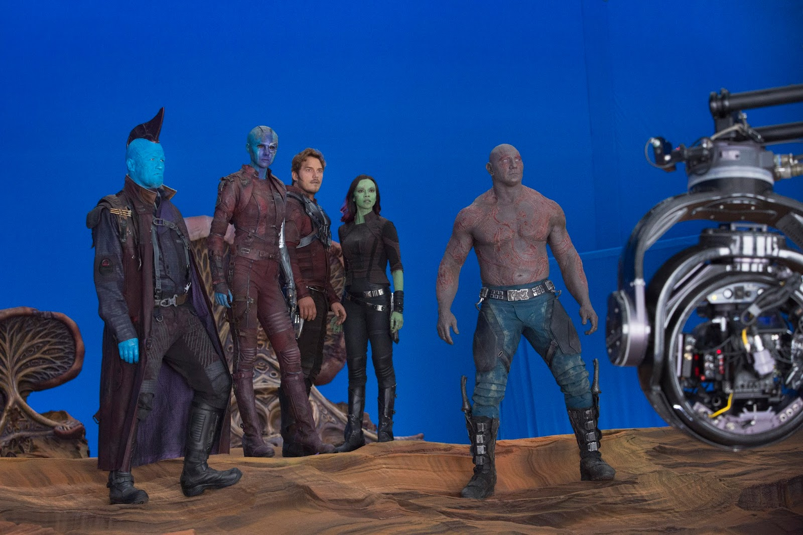 Guardians of the Galaxy Vol 2  Behind The Scenes Photos