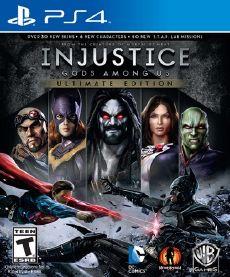 injustice gods among us ultimate edition ps3 mega