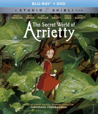 Studio Ghibli: The Secret World of Arrietty on Blu-Ray