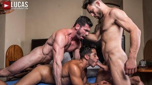 Drae Axtell, James Castle, Billy Santoro – Must Seed TV – Dine Ass-ty (Bareback)