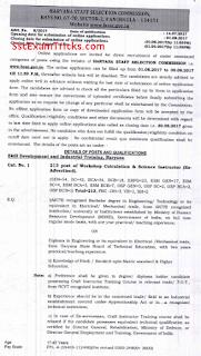 hssc advt 8/2017 notice