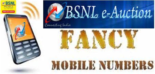 Choose Your Mobile Number BSNL AP Offers starts 56th auction to Select Premium Fancy numbers Online