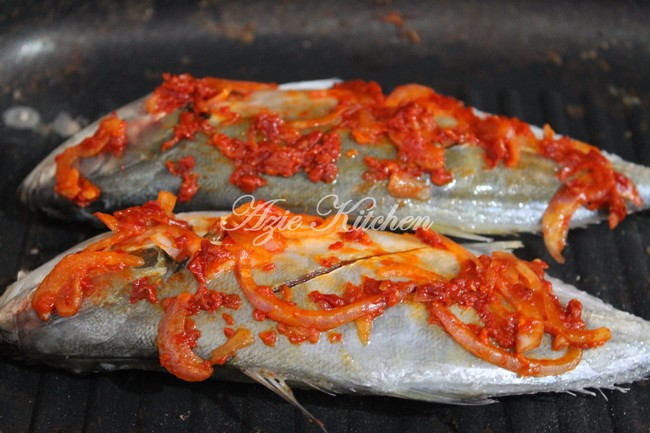 Ikan Bakar Cili Azie Kitchen