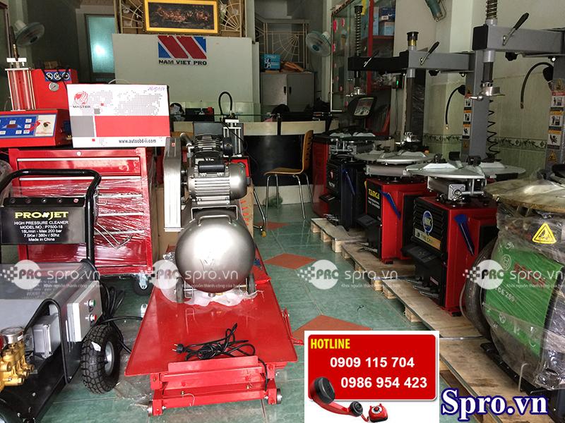 Thiết bị sửa xe máy spro.vn