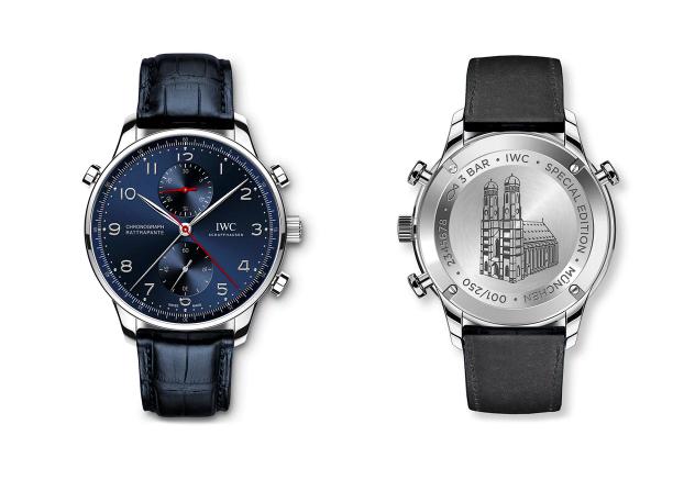 "Portugieser Chronograph Rattrapante Edición ""Boutique Munich"""