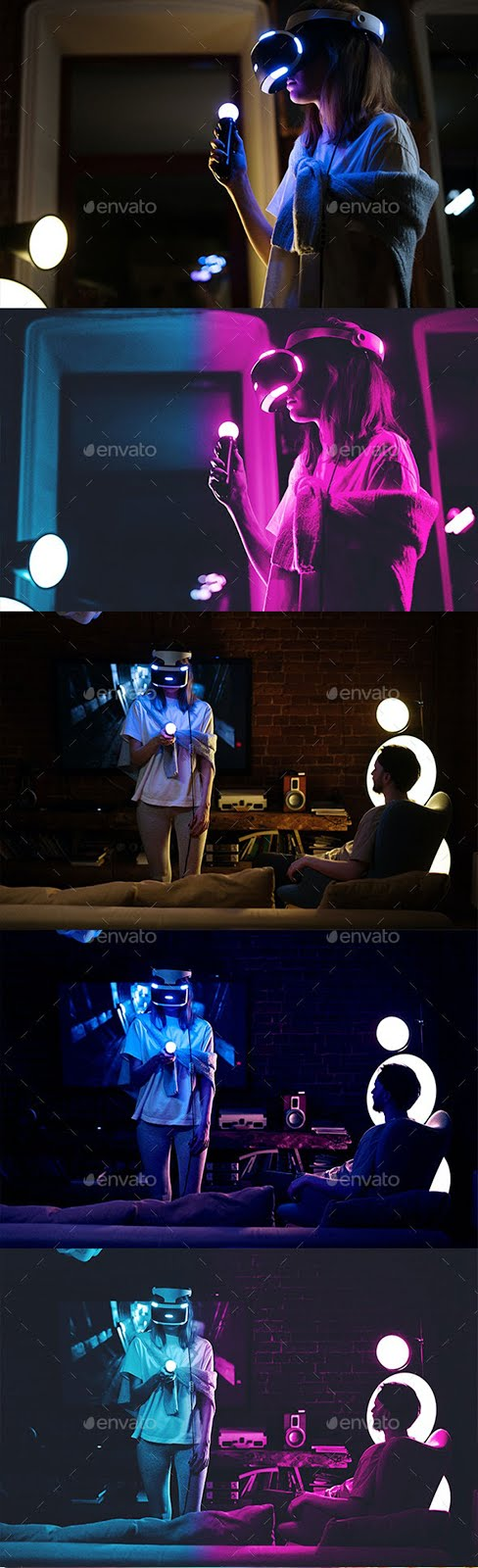 Cyberpunk Photoshop Template V2 27643757 Free Download