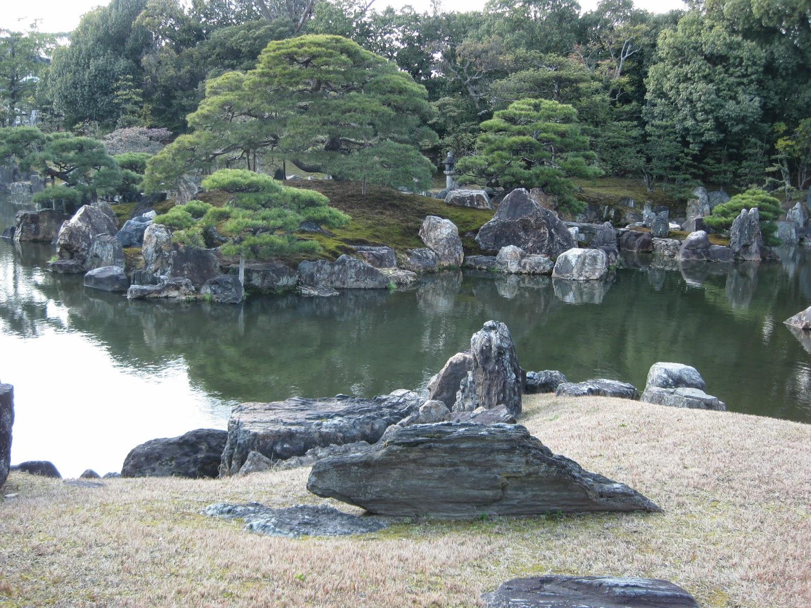 Kyoto - Ninomaru Garden, located behind Ninomaru Palace