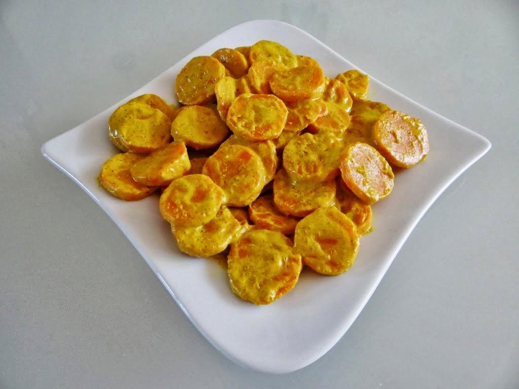 Marchewka w sosie curry