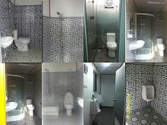 Jual Toilet Container 20 feet