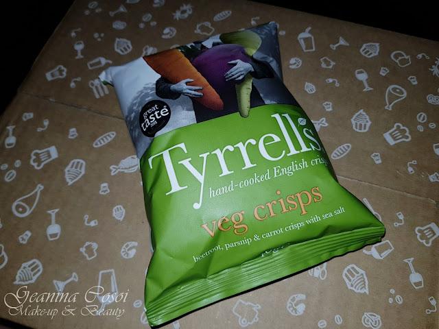 Tyrrells vegetales al horono con sal Degustabox Enero ´18 - Especial Desayuno