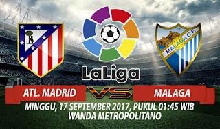 Prediksi Atletico Madrid vs Malaga 17 September 2017