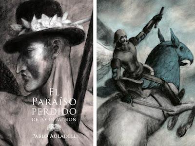 El artista alicantino, Pablo Auladell, es galardonado por su recreación de 'El paraíso perdido', de John Milton.