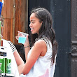 Photos: Malia Obama turns 17 + more pics of her on set of 'Girls'