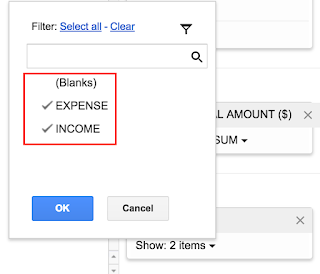 Spreadsheet in Use: Create Pivot Report