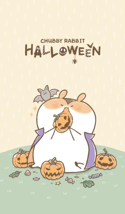 Chubby Rabbit-Halloween