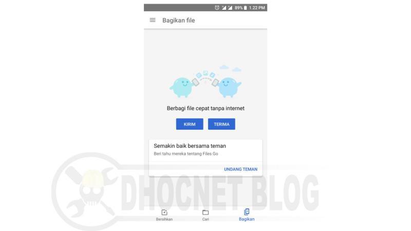 menggunakan fitur berbagi files go - blog.dhocnet.work