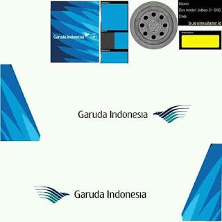 Download Livery Bus Garuda Indonesia